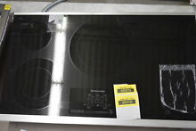 KitchenAid KECC667BSS 36  Stainless 5 Element Electric Cooktop NOB  33444 HRT