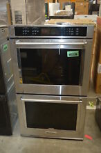 KitchenAid KODE500ESS 30  Stainless Double Electric Wall Oven NOB  33594 HRT