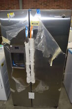 GE GSS25GSHSS 36  Stainless Side By Side Refrigerator NOB  33695 HRT