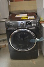 GE GFW450SPMDG 27  Diamond Gray Front Load Washer NOB  33727 HRT