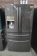 Samsung RF28JBEDBSG 36  Black Stainless French Door Refrigerator NOB  33849 HRT