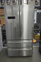 Bosch 800 B21CL80SNS 36  Stainless French 4 Door Refrigerator NOB  33909 HRT