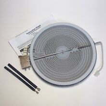 W10823722 Genuine Whirlpool Jenn Air Maytag Dual Surface Element with Wire Kit