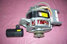 KENMORE WASHER MOTOR AND START CAPACITOR   W10006399 SEE PICTURES