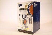 Miller Lite Thermoelectric Can Cooler  Brand New  OPEN BOX