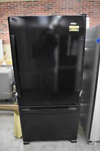 Amana ABB2224BRB 33  Black Bottom Freezer Refrigerator NOB  34296 HRT