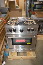 BlueStar RPB304BV1 30  Stainless Freestanding Natural Gas Range NOB  24144