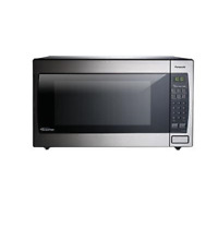 Microwave Oven Panasonic 2 2 Cu Ft  1250W Countertop Built In Inverter Technolog