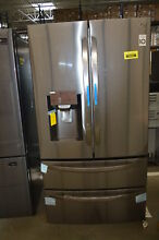 LG LMXS28626D 36  Black Stainless French Door 2 Drawer Refrigerator  33447 MAD