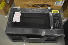 GE JNM7196BLTS 30  Black Stainless Over The Range Microwave NOB  36604 HRT