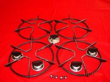 Vintage  1970s  Roper Gas Stove 7 5 inch Grates  Knobs and Indicators