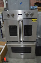 Viking VDOF7301SS 30  Stainless French Door Double Wall Oven NOB  36752 HRT