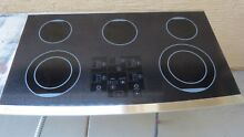 GE MONOGRAM ZEU36RSFSS 36  DIGITAL TOUCH CONTROL ELECTRIC COOKTOP