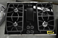 GE PGP9830SJSS 30  Stainless Downdraft Gas Cooktop NOB  37405 HRT