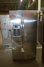 GE GSS25GSHSS 36  Stainless Side By Side Refrigerator NOB  34221 HRT