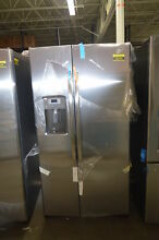 GE GSS25GSHSS 36  Stainless Side By Side Refrigerator NOB  34220 HRT