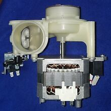 Frigidaire Dishwasher Pump   Motor  Pre Owned  5304482475  Free Shipping