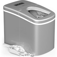 HOmeLabs Portable Ice Maker Machine for Countertop   Makes 26 lbs of per 24 hour