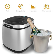 Gladwell Countertop Ice Maker Machine   Portable Nugget Cube Makers Makes 50 LB