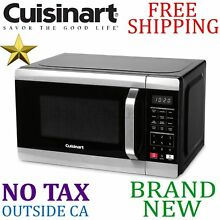 New CUISINART 700W Compact Microwave Oven 0 7 cu ft capacity 11 power 2 stage