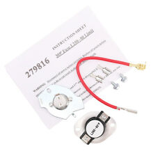 279816 Dryer Thermostat Kit Replacement for Whirlpool   Kenmore Dryer