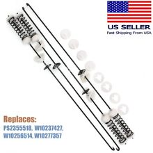 W10247710 Whirlpool Maytag Washer Suspension Rod Kit  4 PCS  PS2355518