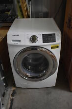 Samsung WF45N5300AW 27  White Front Load Washer w Self Clean NOB  37561 HRT