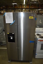 Whirlpool WRS555SIHZ 36  Stainless Side By Side Refrigerator NOB  37772 HRT