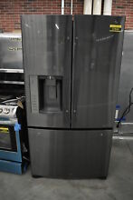 LG LFX25973D 36  Black Stainless French Door Refrigerator  37844 CLW
