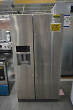 KitchenAid KRSF505ESS 36  Stainless Side By Side Refrigerator NOB  37711 HRT