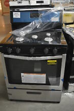 Whirlpool WFG505M0BS 30  Stainless Freestanding Gas Range NOB  37934 CLW