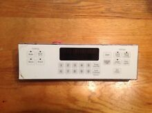 GE Oven Electronic Control Board   Part  164D8496G040  PO