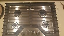 Whirlpool WCG51US0DS 30  Stainless Steel 4 Burner Gas Cooktop