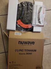 NUWave  Titanium 1800 Watt Model 30342 In Box w  Manual AND CARRYING STORAGE BAG