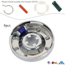8PCS Washer Transmission Clutch Assembly Kit For Whirlpool Kenmore 285785 USA