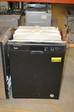 Whirlpool WDF120PAFB 24  Black Full Console Dishwasher NOB T2  22821
