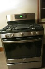GE JGB860EEJES 30  Freestanding Double Oven Gas Range Griddle Convection Slate