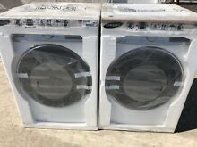 New Samsung Front Load Washer and Gas Dryer WF56H9100AW DV56H9100GW