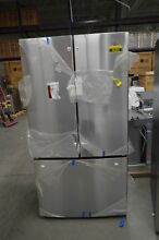 GE GNE27JSMSS 36 Stainless French Door Refrigerator NOB  36393 HRT
