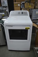 GE GTD75GCSLWS 27  White Front Load Gas Dryer NOB  36396 HRT