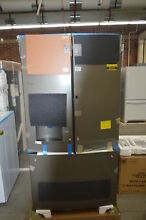 GE GFD28GMLES 36  Slate French Door Refrigerator NOB  34257 HRT