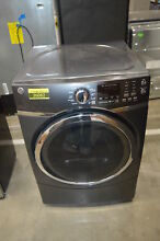 GE GFD45ESPMDG 27  Gray Front Load Electric Dryer NOB  33777 HRT