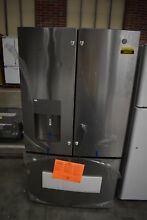 GE GFE26JSMSS 36  Stainless French Door Refrigerator NOB  38420 HRT