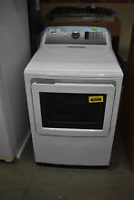 GE GTD75GCSLWS 27  White Front Load Gas Dryer NOB  38337 HRT