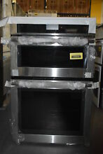 Jenn Air JMW2427DS 27  Stainless Microwave Combo Wall Oven NOB  37076 HRT