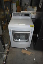 LG DLE7200WE 27  White Front Load Electric Dryer NOB  34029 HRT