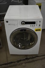 GE WCVH4800KWW 24  White Front Load Washer NOB  37523 CLW