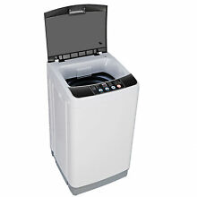 Full Automatic Laundry Washing Machine 8Lbs Washer and Natural Laundry Hamper