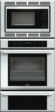 Thermador Masterpiece Series 30 Inch Triple Combination Wall Oven MEDMCW31JP