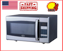 900 Watt Microwave Compact 0 9 Cu ft Capacity 10 Power Level 6 pre set menu